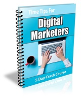 Time Tips For Digital Marketers