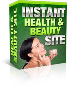 Instant Health And Beauty Site