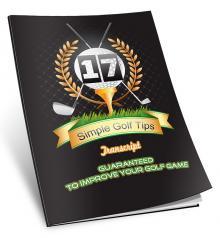 17 Simple Golf  Tips