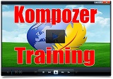 Kompozer Training Videos