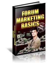 Forum And Marketing Basics