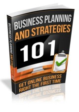 Business Planning And Strategies 101