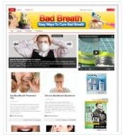 Bad Breath Health Niche Blog