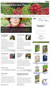 Vegetable Garden Tips Niche Blog